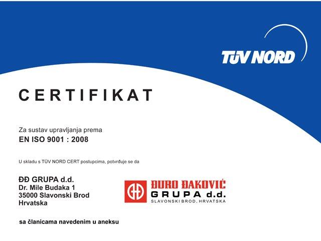 Management system certificates