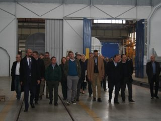 Representatives of the diplomatic corps in the Republic of Croatia visited Đuro Đaković Group