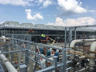 Completion of geothermal power plant construction works