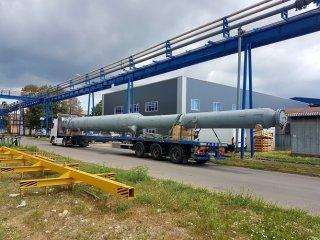 Isporuka posude pod tlakom – kolone za Rafineriju nafte Sisak