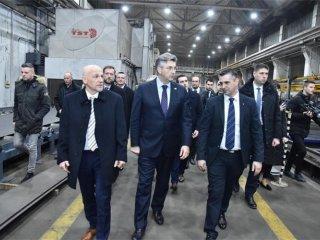 Predsjednik Vlade RH sastao se s predstavnicima Đuro Đaković Grupe d.d.