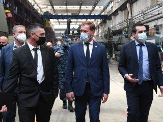 Ministar obrane RH posjetio grupaciju Đuro Đaković