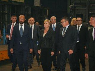 Predsjednica RH posjetila tvrtku Đuro Đaković Specijalna vozila