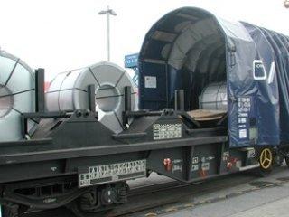 Isporuka vagona za prijevoz lima
