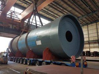 Isporuka plašta mlina cementa